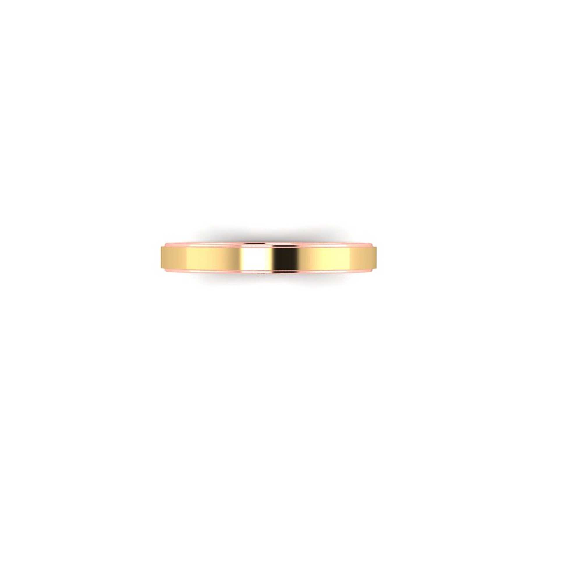 Tabla Bicolor Wedding Rings