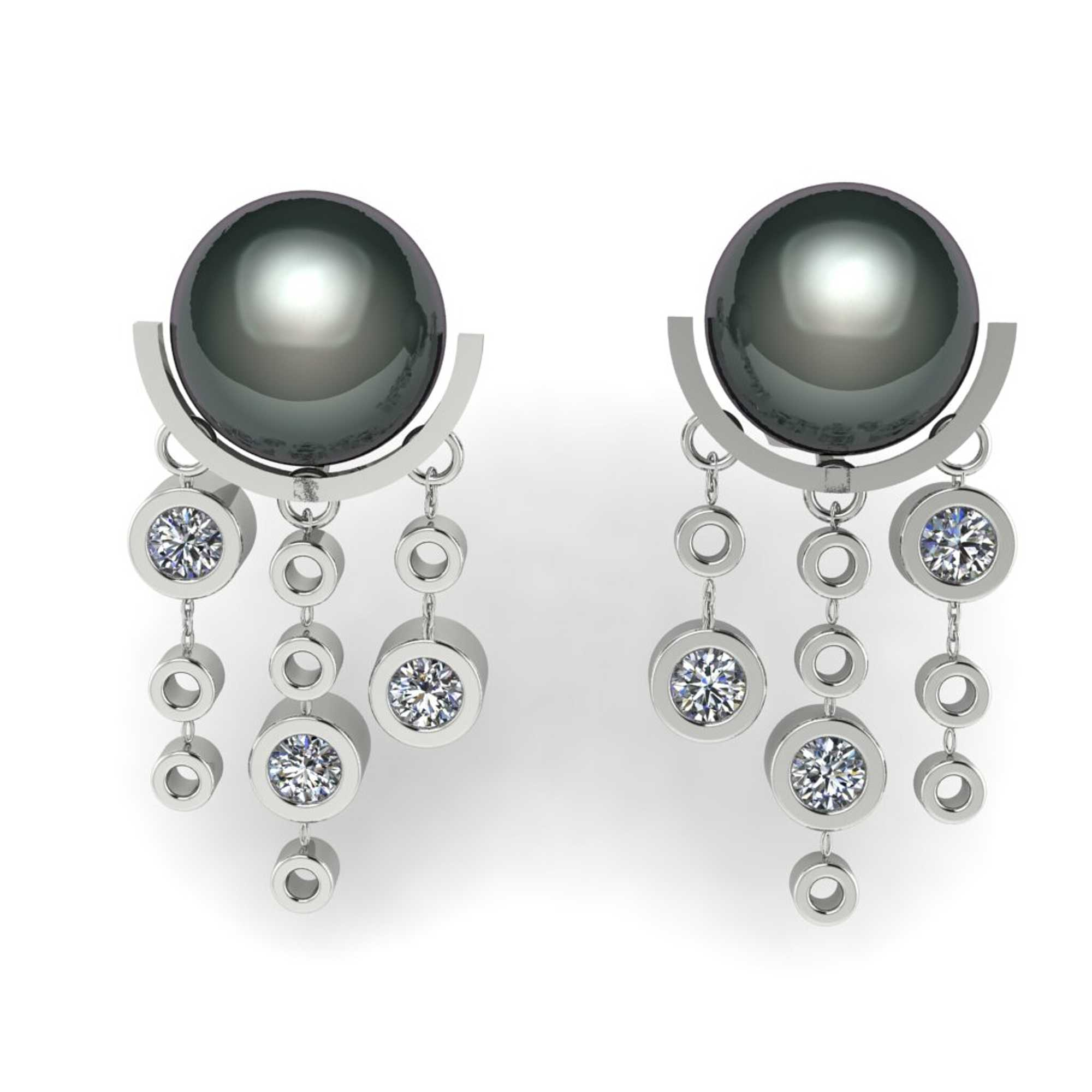 Luna de invierno Earrings