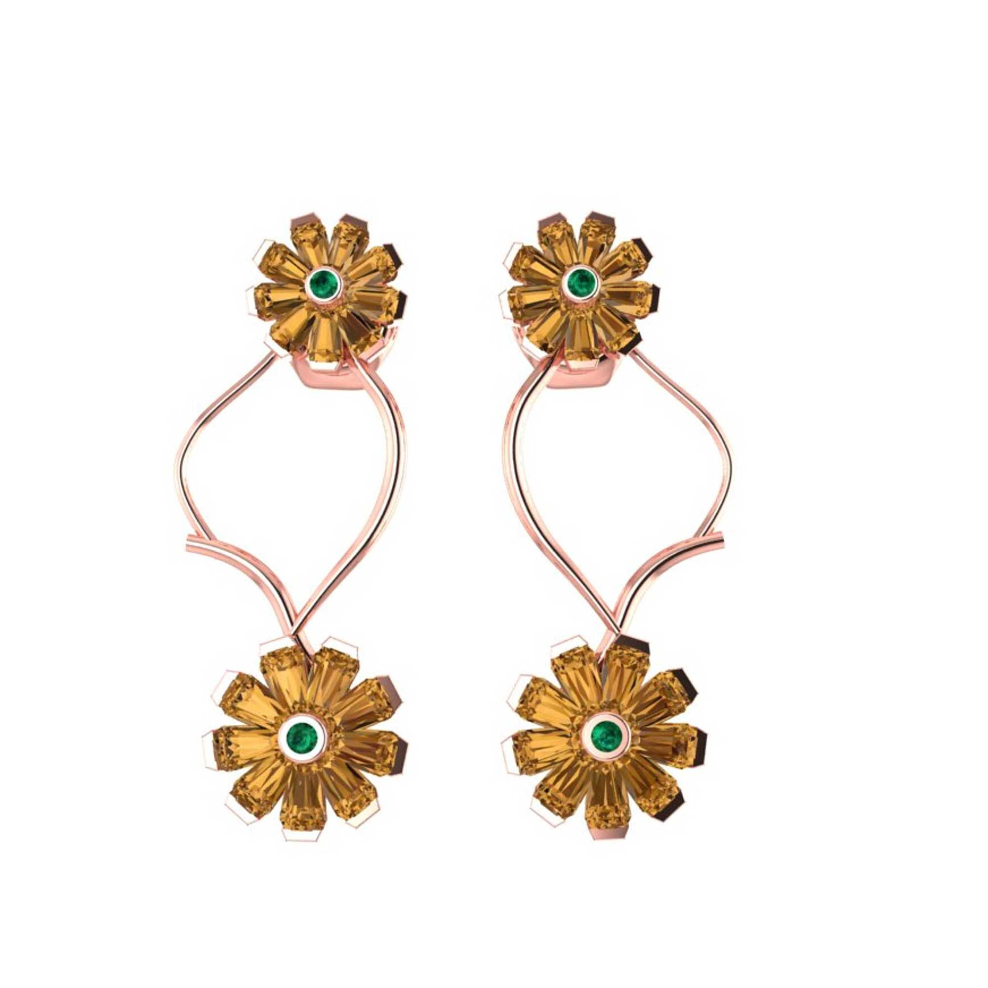 Girasoles Earrings